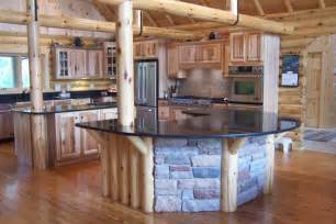 Log Cabin Kitchen Designs Most Creative Kitchen Design The Chorney