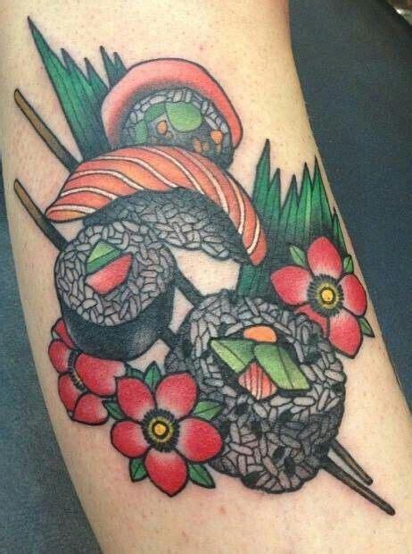 sushi tattoo sushi by amanda grace leadman tattoos