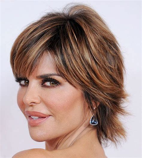 Hairstyles And Highlights For The Over 50 | hairstyles for women over 50 how gorgeous are lisa rinna