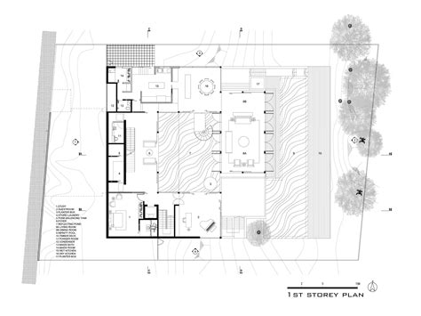 Basement House Floor Plans Hillside House Ar43 Architects Archdaily