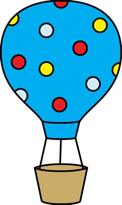 Colorful polka dot hot air balloon clip art colorful polka dot hot air balloon image