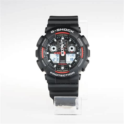 Casio G Shock Ga 100 Black casio g shock ga 100 1a4 black dwi digital
