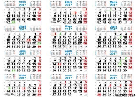 Calendario Lunar Octubre 2017 España Quot Calendario 2017 Santoral Espa 241 A Quot Im 225 Genes De Archivo Y