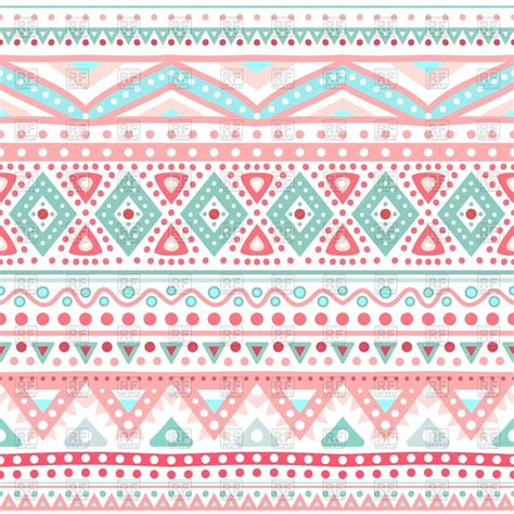 ethnic pattern tumblr seamless wallpaper with ethnic geometric pattern vector