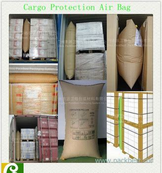 aar kraft dunnage air bag for container gap filling dunnage bag for cargo protection