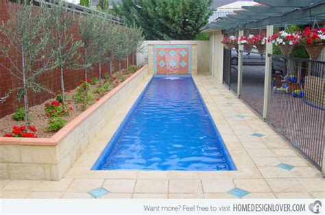 cost of lap pool 15 fascinating lap pool designs home design lover