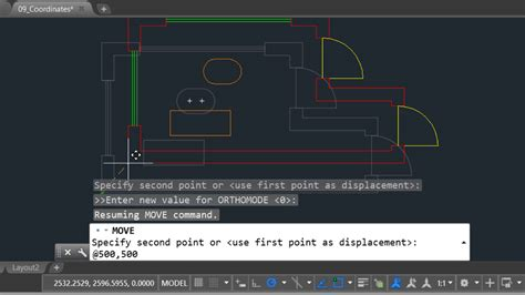 layout command in autocad autocad using the command line