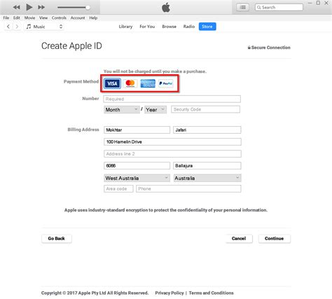 make a paypal account without a credit card how to create an apple id without credit card using paypal