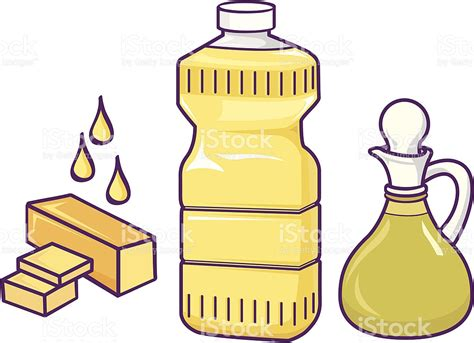 healthy fats clipart cooking oils stock vector 165667039 istock