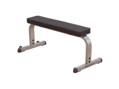 body solid utility bench body solid flat bench