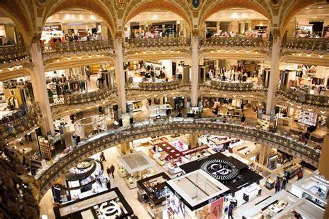 galerie le les galeries lafayette shopping parisianist city