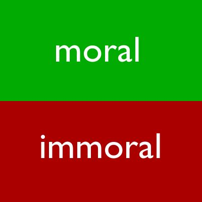 Moral Immoral Amoral 301 moved permanently