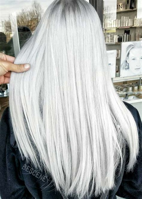 silver gray hair color silver hair trend 51 cool grey hair colors tips for