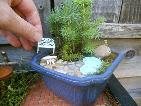 water features in the miniature garden the mini garden