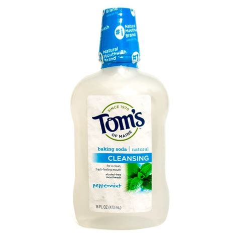 Detox Mouthwash Ultra Wash In Store Up by Tom S Of Maine Baking Soda Cleansing Free