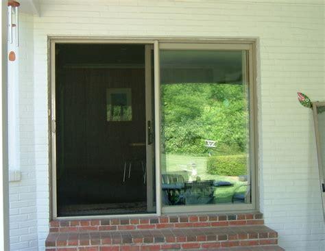 sliding patio door screen mirage