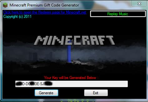 Minecraft Gift Card Code Generator Tool Free Premium Account Updated Area Hacks - free minecraft code generator freeinsight