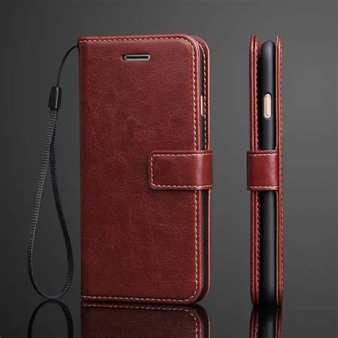Flip Retro Leather Wallet Card Dompet Kulit Cover Casing Oppo A39 luxury retro leather for iphone 8 7 plus iphone8 7plus stand wallet card slot flip cover