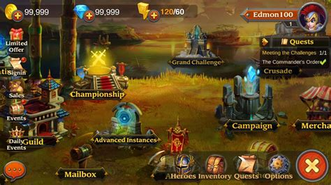 download game android heroes charge mod apk heroes charge hack no survey apk android cheats unlimited gems
