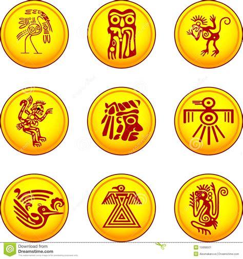 imagenes de simbolos indios american indians symbols stock vector illustration of