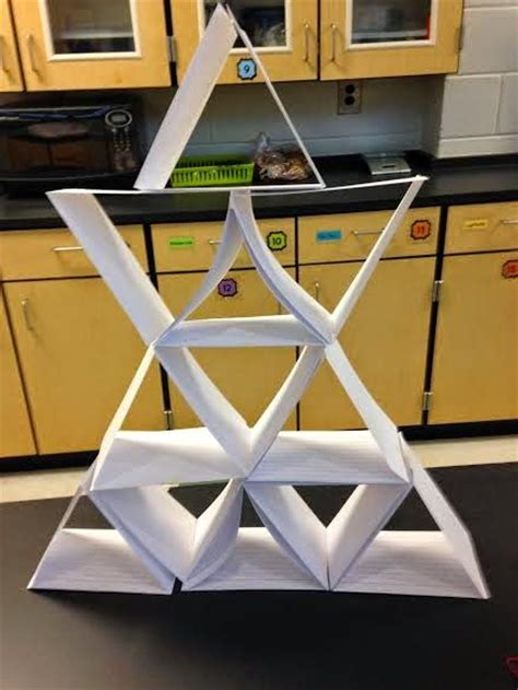 how to make a card tower another great tower building stem task can you build a