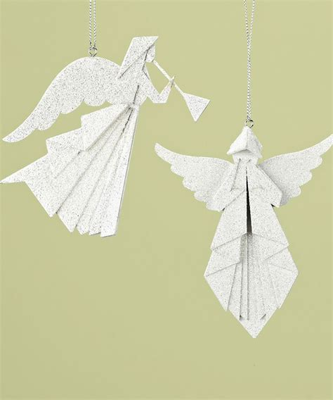 Origami Angle - origami ornament set