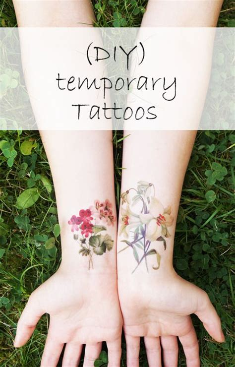 tattoos for craft lovers diy diy ways to wear temporary tattoos fashions fobia for
