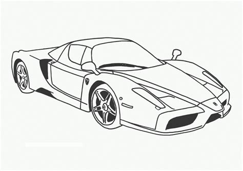 Coloring Pages Cars Online | free printable race car coloring pages for kids