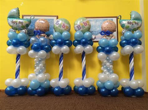 Balloon stands and pillars that balloons