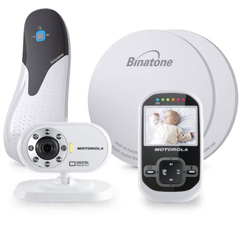 Baby Breathing Monitor For Crib Motorola Mbp26 Wireless Digital Monitor Babysense 5 Baby Breathing Bundle Ebay