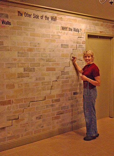fake exposed brick wall faux brick walls for diy for the home pinterest faux