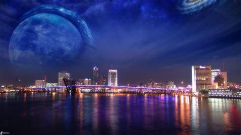 Big Wallpaper 3d World 7 ville dans la nuit