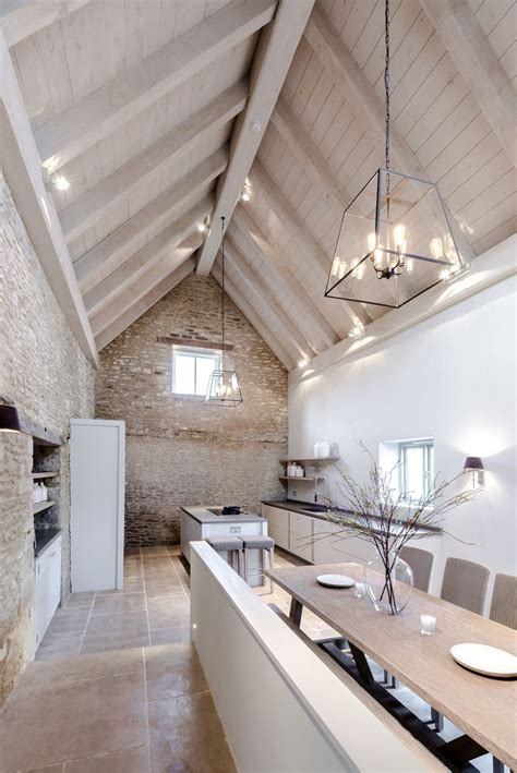 vaulted ceiling lighting 1000 ideas about barn conversions on pinterest barn