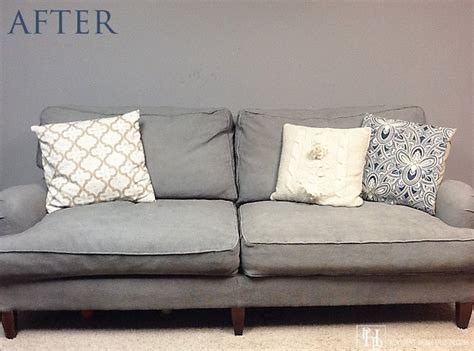 painting couch fabric 11 ways to make your beat up couch look brand new hometalk