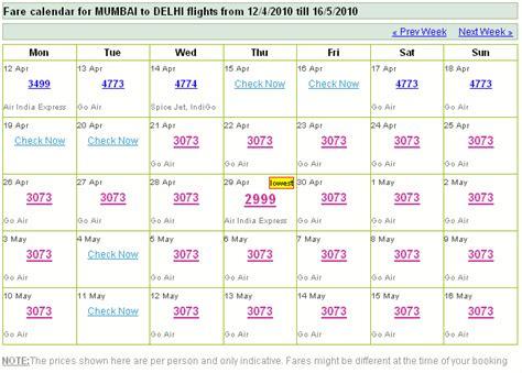 Flight Fare Calendar 90di 187 Archive 187 Now Choose Your Flights