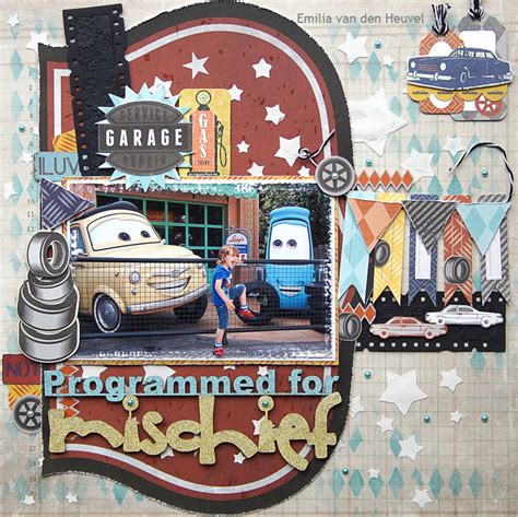 kaisercraft garage days  emmy merly impressions