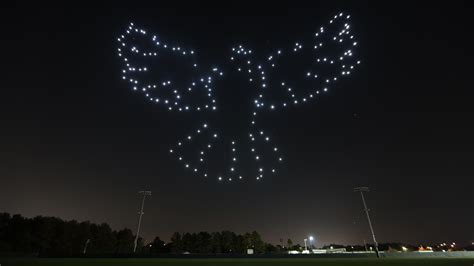 intel drone light show disney and intel are launching a drone light show at