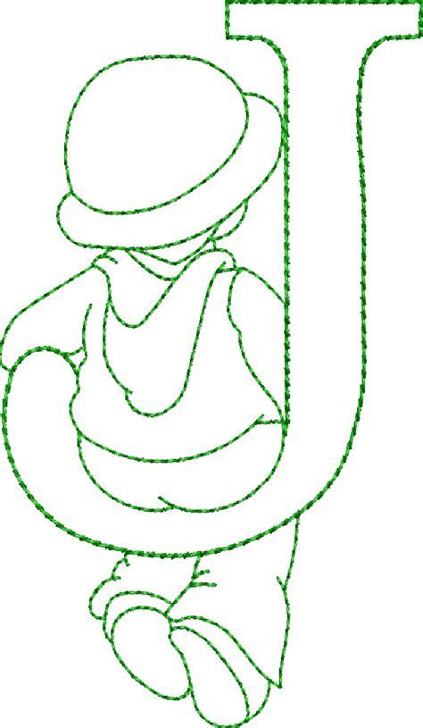 embroidery riscos alfabeto riscos ou moldes de letras sunbonnet sue bordado