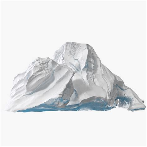 mountain models snow mountain 3d model