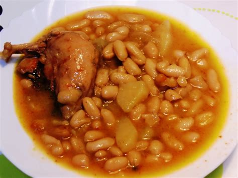 imagenes de judias blancas con chorizo pericaentrefogones receta de habichuelas o jud 237 as