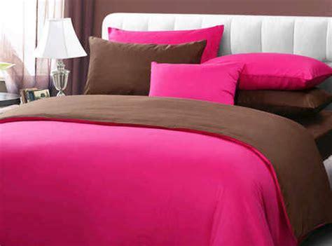 Bedcover Set Polos Katun Coklat Tua 180x200x25 sprei polos pink coklat sprei katun jepang sprei