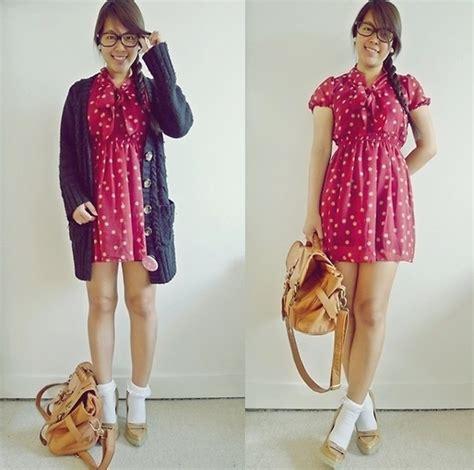 joey w asia fashion wholesale polka dotted vintage style