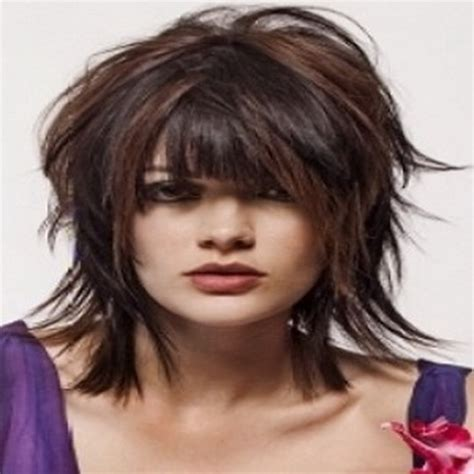 shaggy piecy hairstyle pictures short shaggy hairstyles