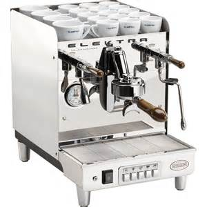 commercial cappuccino coffee machine elektra sixties deliziosa commercial espresso and