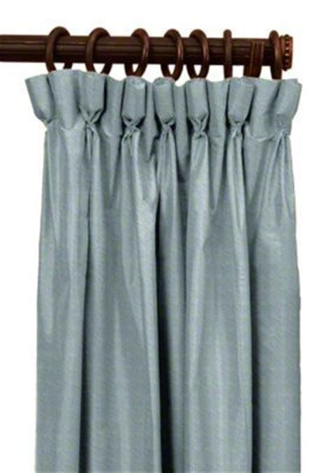 goblet pleat drapes custom goblet pleat silk drapes