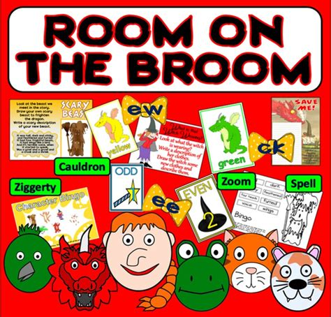 new year literacy activities eyfs room on the broom story teaching resources literacy