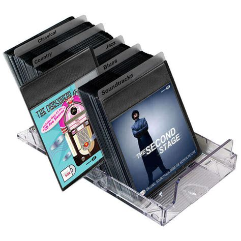 Cd Dvd Storage Sleeves Accessories Dj Cases