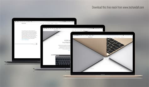 New Macbook the new macbook mockup welcome to tech all