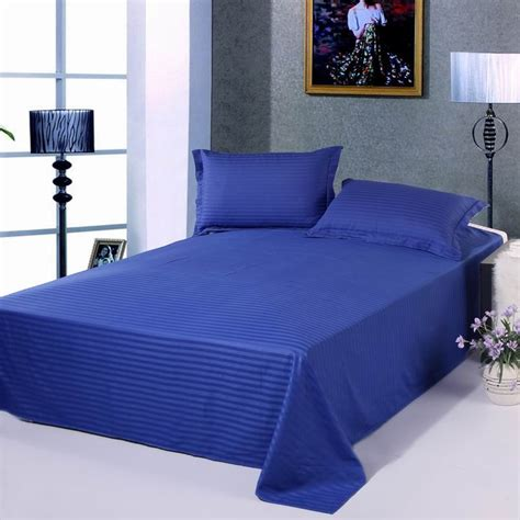 solid color comforters twin 1pcs 100 cotton solid color flat sheet stripe bedding twin