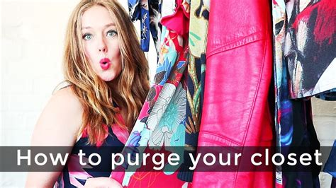 how to purge your closet over 40 style purge how to purge your closet youtube